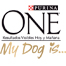 Logotipo Purina One My Dog Is...