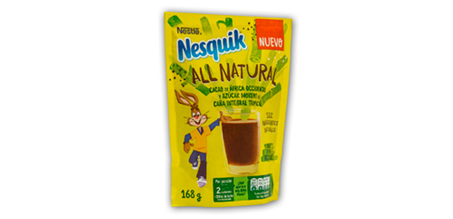 Nuevo Nesquik All Natural