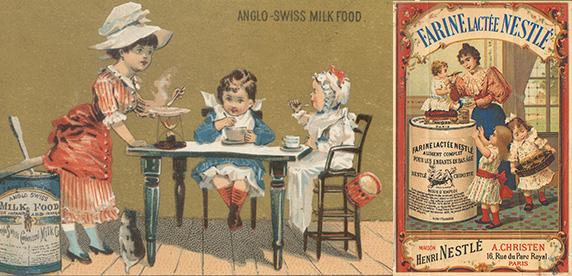 Carteles históricos de Nestlé