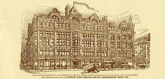 Imagen de la sede en Londres de Nestlé