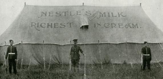 La leche condensada se hace popular entre las fuerzas armadas
