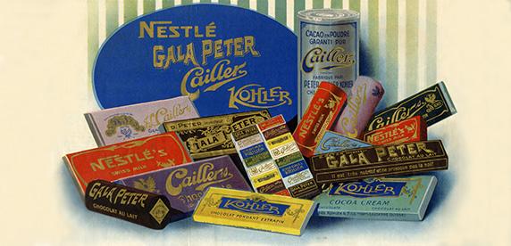 Nestlé adquiere la empresa Peter-Cailler-Kohler