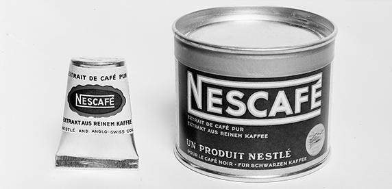 Primeros productos comercializados de Nescafé