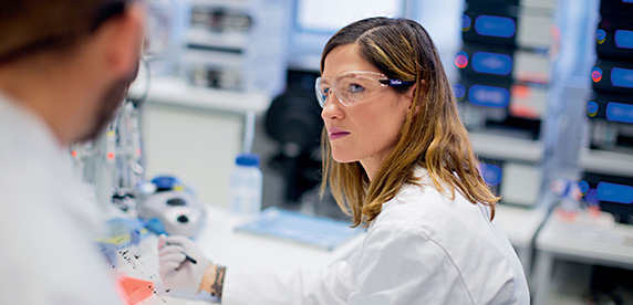 Investigadores del Nestlé Institute of Health Sciences