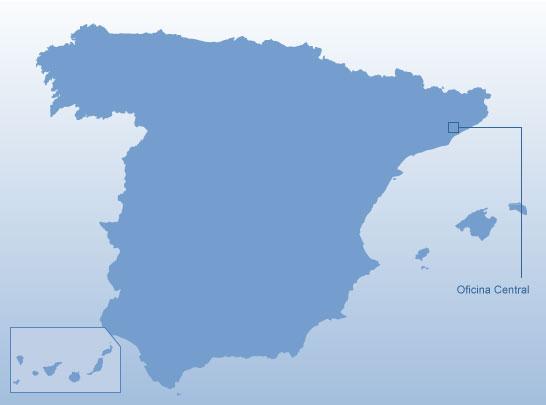 D nde estamos oficinas y centro de producci n nestl espa a for Oficinas aguas de barcelona