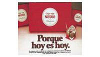 Publicidad de la Caja Roja de Nestlé